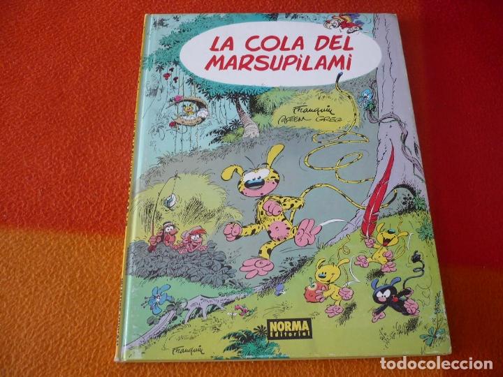 LA COLA DEL MARSUPILAMI ( FRANQUIN GREG ) TAPA DURA NORMA ALBUMES CAIRO 14 SPIROU (Tebeos y Comics - Norma - Comic Europeo)