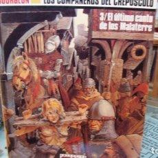 Cómics: BOURGEON. LOS COMPAÑEROS DEL CREPÚSCULO. 3/EL ÚLTIMO CANTO DE LOS MALATERRE.. Lote 177121464