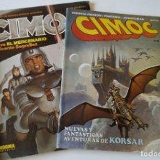 Cómics: LOTE 2 CÓMIC CIMOC Nº 2 Y 83 NUEVAS Y FANTÁSTICAS AVENTURAS DE KORSAR VICENTE SEGRELLES. Lote 177425452