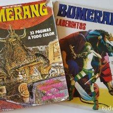 Cómics: LOTE 2 CÓMIC BUMERANG Nº 11 Y SUPER BUMERANG Nº 18 LABERINTOS LOS NÁUFRAGOS DEL TIEMPO ANDY CAPP ESE. Lote 177425815