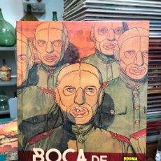 Cómics: BOCA DE DIABLO - CHARYN · BOUCQ - NORMA. Lote 177508342