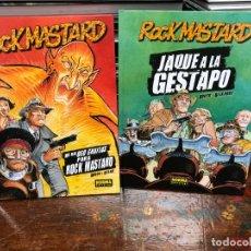 Cómics: ROCK MASTARD - 2 TOMOS - BOUCQ · DELAN - NORMA - TAPA DURA. Lote 177509309