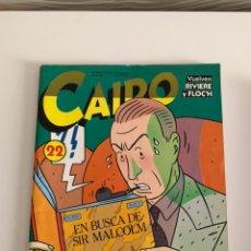 Cómics: CAIRO N 22 BUEN ESTADO. Lote 177586944
