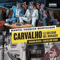 Cómics: CÓMICS. CARVALHO. LA SOLEDAD DEL MANAGER - MIGOYA/MONTALBÁN/SEGUÍ (CARTONÉ). Lote 177750547