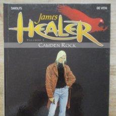 Cómics: JAMES HEALER - CAMDEN ROCK - SWOLFS - Nº 1 - TAPA DURA - NORMA. Lote 177869069