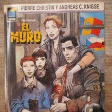 Cómics: EL MURO - PIERRE CHRISTIAN / ANDREAS C. KNIGGE - Nº 4 - COLECCION PANDORA - NORMA. Lote 177870254