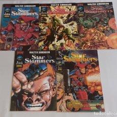 Comics : STAR SLAMMERS - NORMA EDITORIAL / COLECCIÓN COMPLETA (5 NÚMEROS). Lote 178068000