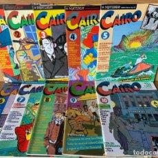 Cómics: LOTE CAIRO 52 REVISTAS - NÚMEROS DEL 1 AL 52 - NORMA. Lote 178132663