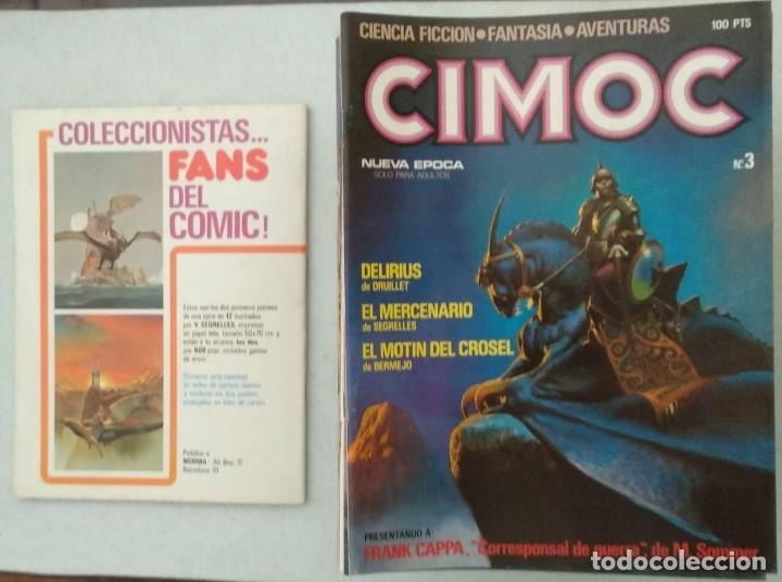 Cómics: COLECCIÓN CIMOC NUEVA ÉPOCA - NORMA - Nº 1 AL 46 - VER TODAS LAS FOTOS - Foto 3 - 178188156