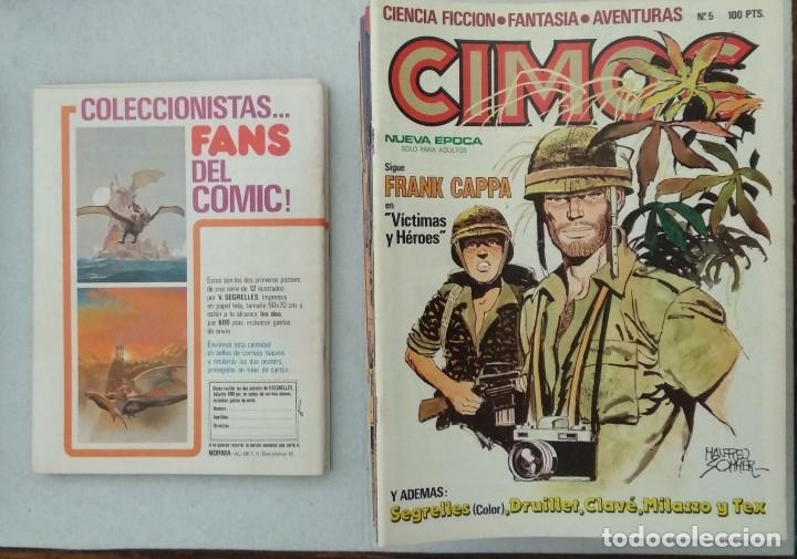 Cómics: COLECCIÓN CIMOC NUEVA ÉPOCA - NORMA - Nº 1 AL 46 - VER TODAS LAS FOTOS - Foto 5 - 178188156