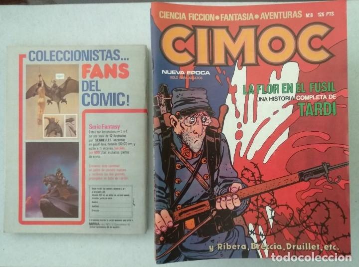 Cómics: COLECCIÓN CIMOC NUEVA ÉPOCA - NORMA - Nº 1 AL 46 - VER TODAS LAS FOTOS - Foto 8 - 178188156