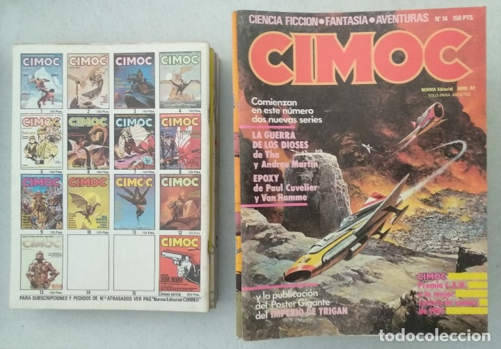 Cómics: COLECCIÓN CIMOC NUEVA ÉPOCA - NORMA - Nº 1 AL 46 - VER TODAS LAS FOTOS - Foto 14 - 178188156