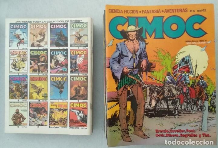 Cómics: COLECCIÓN CIMOC NUEVA ÉPOCA - NORMA - Nº 1 AL 46 - VER TODAS LAS FOTOS - Foto 15 - 178188156