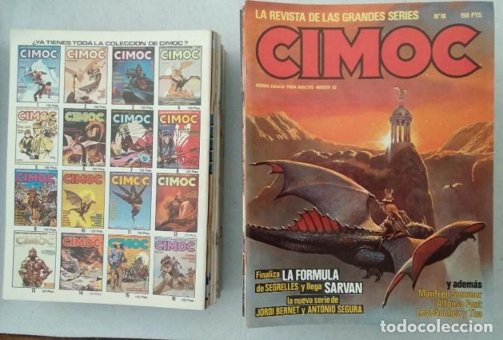 Cómics: COLECCIÓN CIMOC NUEVA ÉPOCA - NORMA - Nº 1 AL 46 - VER TODAS LAS FOTOS - Foto 18 - 178188156