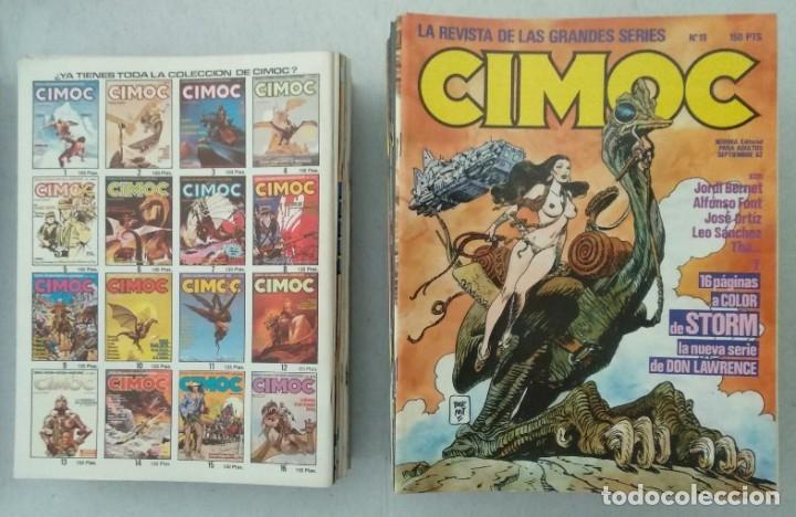 Cómics: COLECCIÓN CIMOC NUEVA ÉPOCA - NORMA - Nº 1 AL 46 - VER TODAS LAS FOTOS - Foto 19 - 178188156