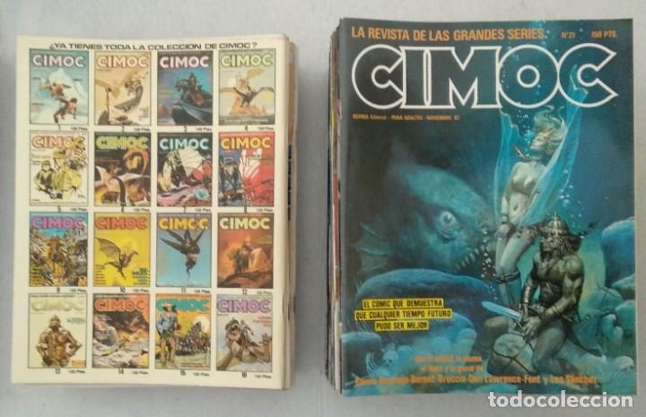 Cómics: COLECCIÓN CIMOC NUEVA ÉPOCA - NORMA - Nº 1 AL 46 - VER TODAS LAS FOTOS - Foto 21 - 178188156