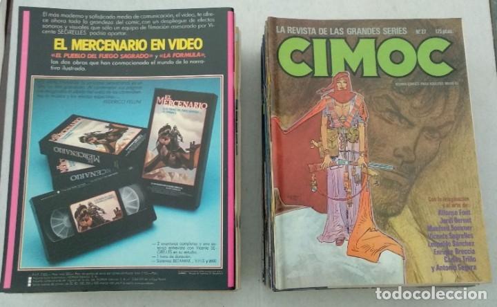 Cómics: COLECCIÓN CIMOC NUEVA ÉPOCA - NORMA - Nº 1 AL 46 - VER TODAS LAS FOTOS - Foto 27 - 178188156