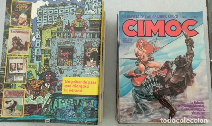 Cómics: COLECCIÓN CIMOC NUEVA ÉPOCA - NORMA - Nº 1 AL 46 - VER TODAS LAS FOTOS - Foto 31 - 178188156