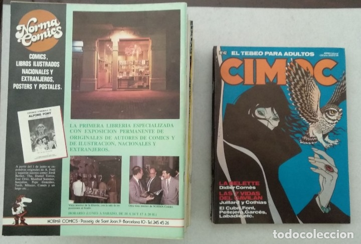 Cómics: COLECCIÓN CIMOC NUEVA ÉPOCA - NORMA - Nº 1 AL 46 - VER TODAS LAS FOTOS - Foto 42 - 178188156