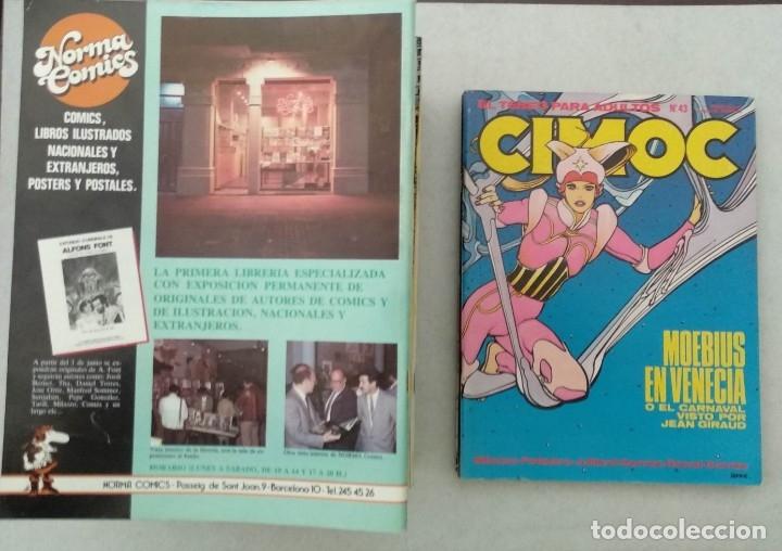 Cómics: COLECCIÓN CIMOC NUEVA ÉPOCA - NORMA - Nº 1 AL 46 - VER TODAS LAS FOTOS - Foto 43 - 178188156