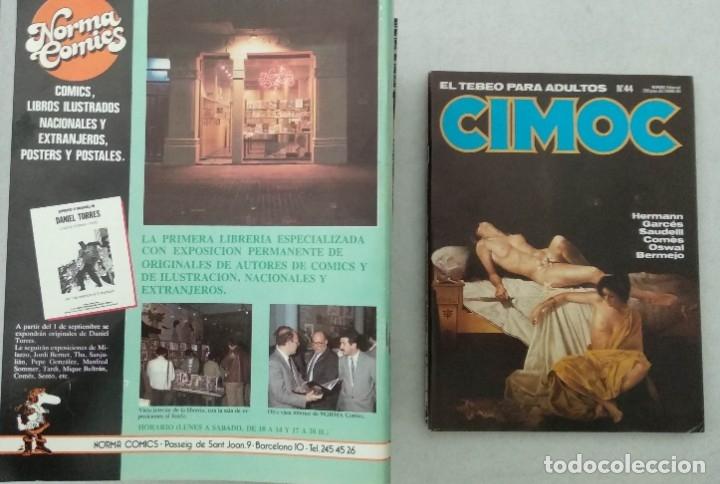 Cómics: COLECCIÓN CIMOC NUEVA ÉPOCA - NORMA - Nº 1 AL 46 - VER TODAS LAS FOTOS - Foto 44 - 178188156