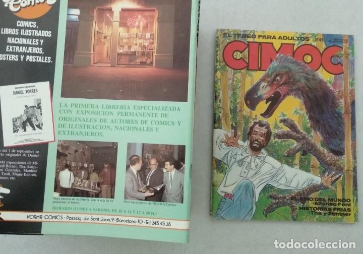 Cómics: COLECCIÓN CIMOC NUEVA ÉPOCA - NORMA - Nº 1 AL 46 - VER TODAS LAS FOTOS - Foto 45 - 178188156
