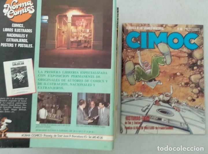 Cómics: COLECCIÓN CIMOC NUEVA ÉPOCA - NORMA - Nº 1 AL 46 - VER TODAS LAS FOTOS - Foto 46 - 178188156