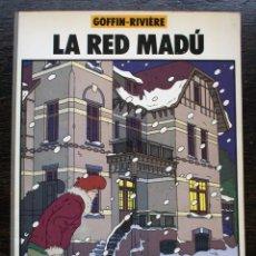 Cómics: LA RED MADÚ - GOFFIN-RIVIÈRE - NORMA COMICS - AÑO 1984 - MUY BUEN ESTADO. Lote 178220298