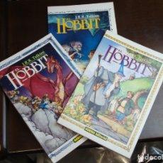Cómics: EL HOBBIT 3 VOLUMENES COMPLETA IMPECABLES. Lote 178366288