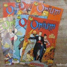 Cómics: OPIUM - COLECCION COMPLETA - 6 NUMEROS - DANIEL TORRES - NORMA. Lote 178594707