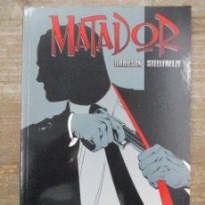 Cómics: MATADOR - GRAYSON / STEELFREEZE- NORMA EDITORIAL. Lote 178647656