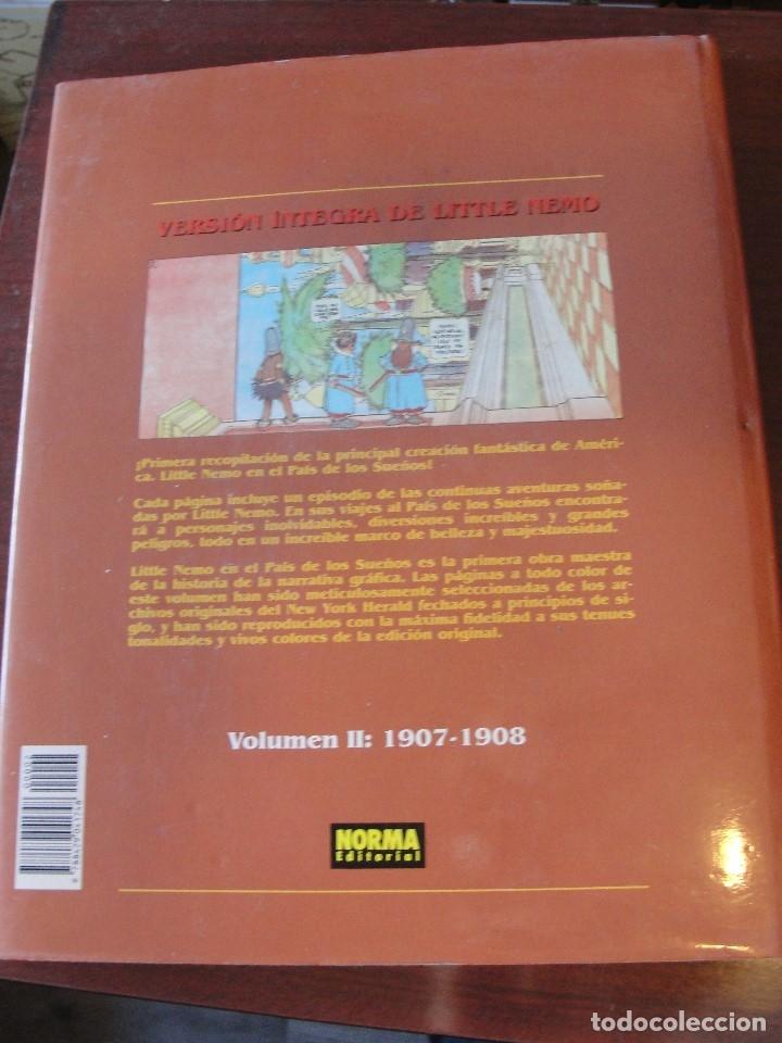 Cómics: LITTLE NEMO EN EL PAIS DE LOS SUEÑOS - NORMA 1995 - DE LIBRERIA !!! - Foto 2 - 178595833