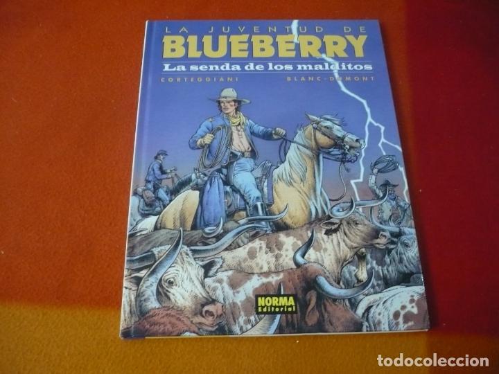 LA JUVENTUD DE BLUEBERRY LA SENDA DE LOS MALDITOS (CORTEGGIANI) ¡MUY BUEN ESTADO! TAPA DURA NORMA 40 (Tebeos y Comics - Norma - Comic Europeo)