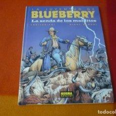 Cómics: LA JUVENTUD DE BLUEBERRY LA SENDA DE LOS MALDITOS (CORTEGGIANI) ¡MUY BUEN ESTADO! TAPA DURA NORMA 40. Lote 178709098