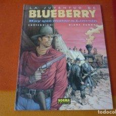 Cómics: LA JUVENTUD DE BLUEBERRY HAY QUE MATAR A LINCOLN ( CORTEGGIANI) ¡MUY BUEN ESTADO! TAPA DURA NORMA 44. Lote 178709298