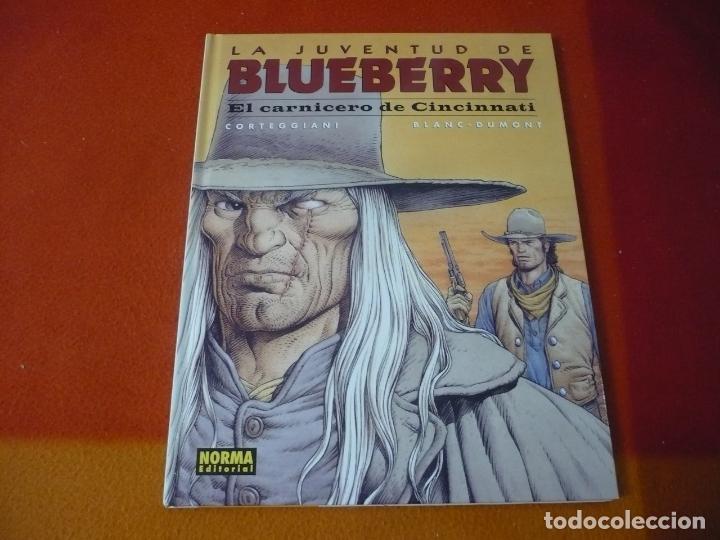 LA JUVENTUD DE BLUEBERRY EL CARNICERO DE CINCINNATI ¡MUY BUEN ESTADO! TAPA DURA NORMA 46 (Tebeos y Comics - Norma - Comic Europeo)