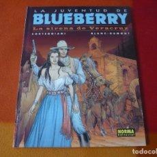 Cómics: LA JUVENTUD DE BLUEBERRY LA SIRENA DE VERACRUZ ( CORTEGGIANI ) ¡MUY BUEN ESTADO! TAPA DURA NORMA 47. Lote 178709795