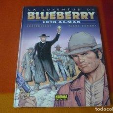 Cómics: LA JUVENTUD DE BLUEBERRY 1276 ALMAS ( CORTEGGIANI BLANC-DUMONT) ¡MUY BUEN ESTADO! TAPA DURA NORMA 51. Lote 178713496