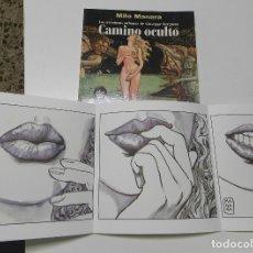 Cómics: CAMINO OCULTO - MILO MANARA. Lote 178714405