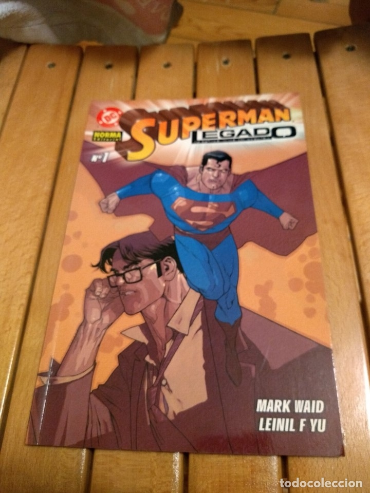 SUPERMAN LEGADO Nº 1 D4 (Tebeos y Comics - Norma - Comic USA)