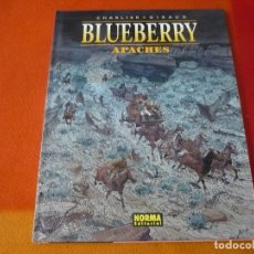 Cómics: BLUEBERRY APACHES ( CHARLIER GIRAUD ) ¡MUY BUEN ESTADO! TAPA DURA NORMA 49. Lote 178746952