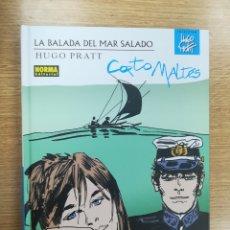 Cómics: LA BALAADA DEL MAR SALADO (COLECCIÓN HUGO PRATT #7). Lote 178782252