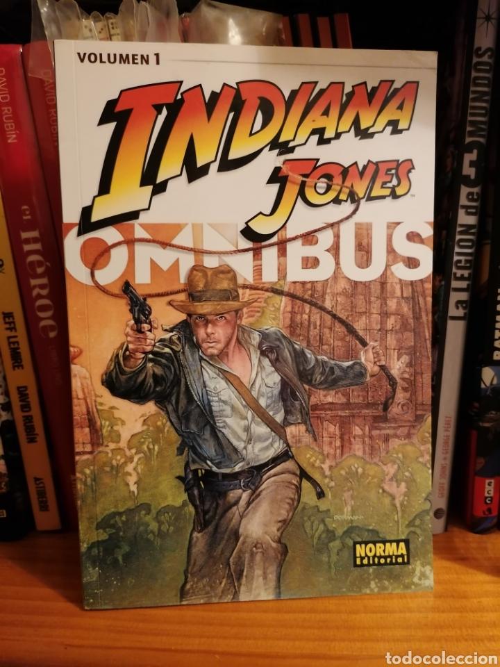 INDIANA JONES ÓMNIBUS 1 DE NORMA (Tebeos y Comics - Norma - Comic USA)