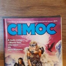 Cómics: CIMOC - 71. Lote 178867227