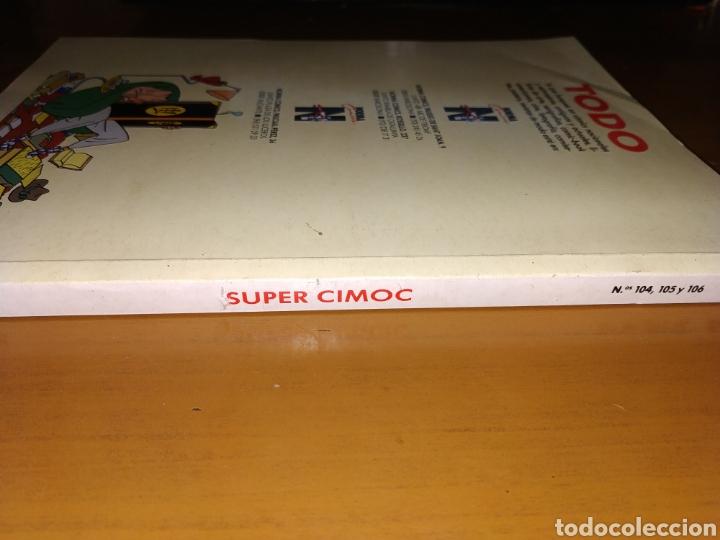 Cómics: SUPER CIMOC TOMO RECOPILACIÓN DE LOS CÓMICS 104 105 Y 106 - Foto 4 - 178915526