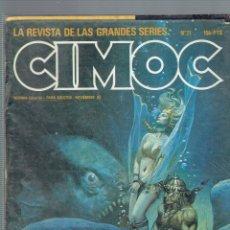 Cómics: LOTE DE 16 COMICS CIMOC NORMA EDITORIAL 1985. Lote 178991592