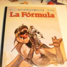 Cómics: CIMOC LA FÓRMULA. V. SEGRELLES. NORMA EDITORIAL 1983 TAPA DURA (BUEN ESTADO, ENCUADERNADO AL REVÉS). Lote 179004975