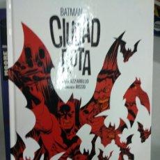 Cómics: BATMAN: CIUDAD ROTA. Lote 179074016