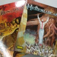 Cómics: LOS HERESIARCAS TOMO I Y II. Lote 179074837