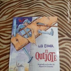Cómics: WILL EISNER EL QUIJOTE . Lote 179117058